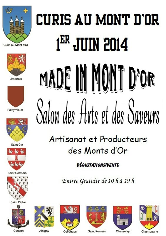 Affiche Made in Mont d'Or