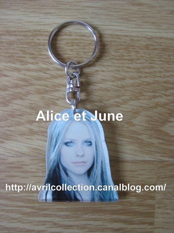 Porte-clef Avril Lavigne-