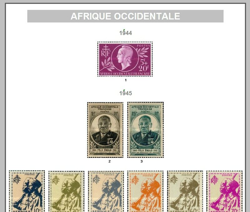 AFRIQUE OCCIDENTALE FRANCAISE