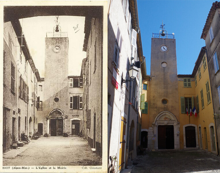 Fig. 9 : place de l'Eglise et entrée ouest
