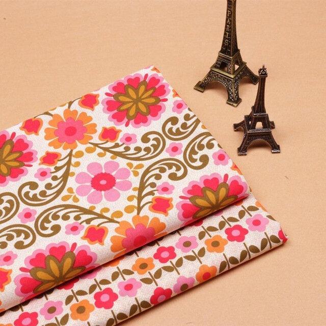 2-pcs-50x150-cm-1-m-tre-Coton-tissu-tissu-d-impression-de-style-National-travail