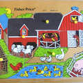 puzzle ferme fisher price