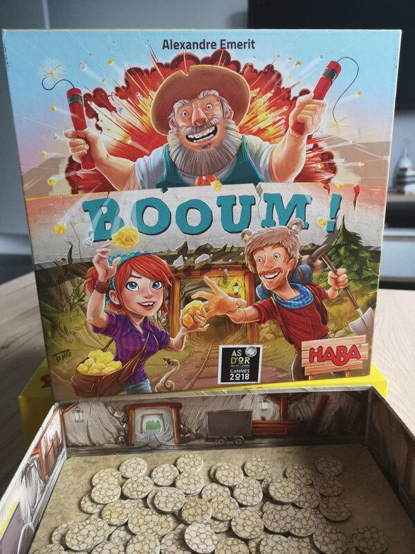 test du jeu Booum ! de chez Haba