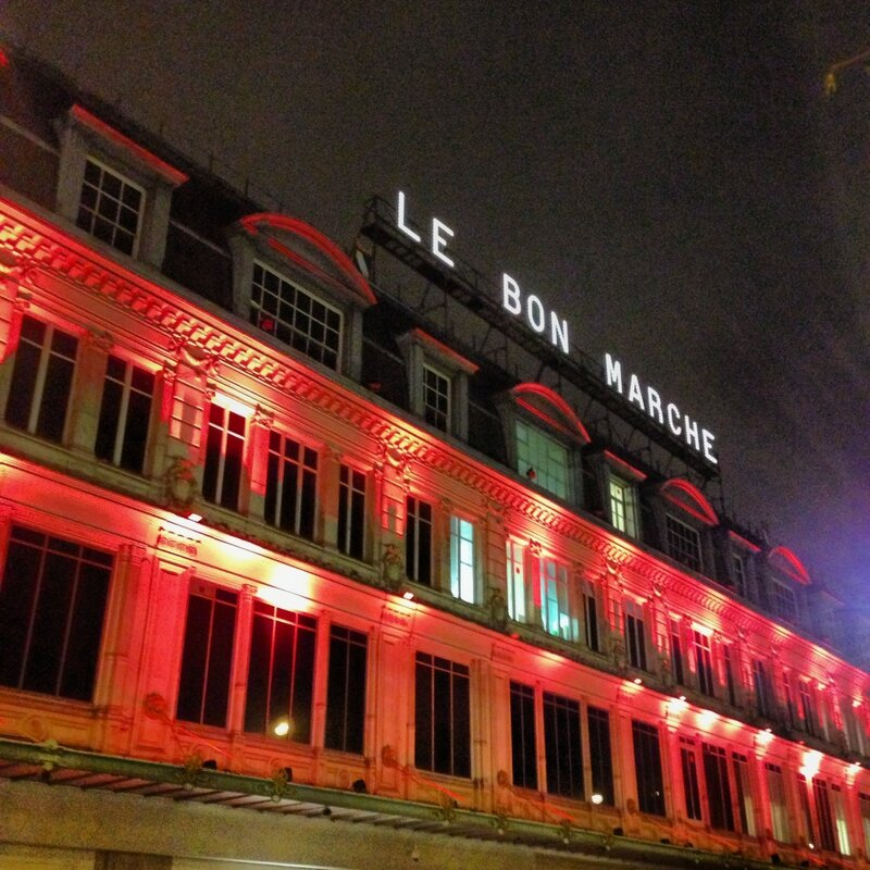 Le Bon Marché outside 3