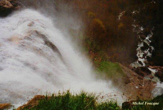 1878) cascade du Bugey (Ain)