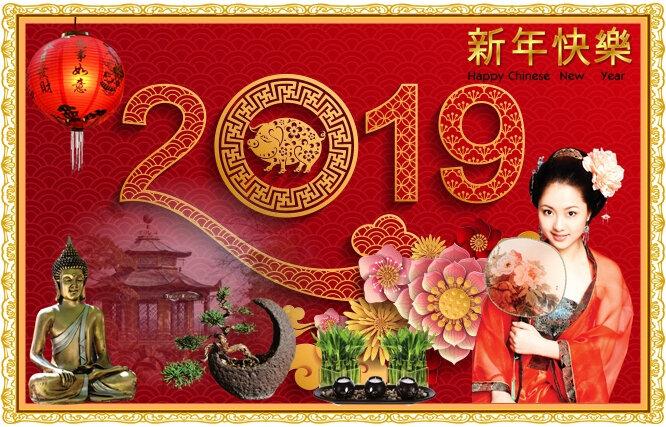 Nouvel an chinois 2019 - Année du Cochon - 5Février