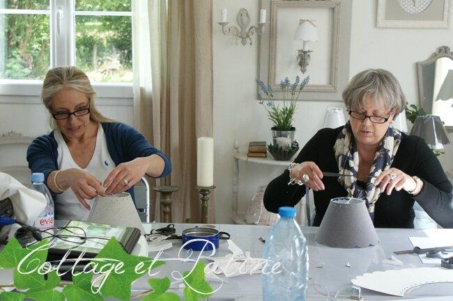 Cottage et Patine stage abat jours (5)