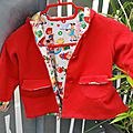 Little red riding hood jacket #1