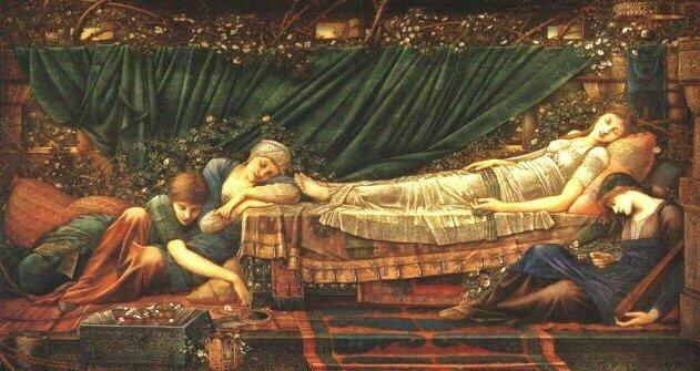 La Belle au bois dormant Burne-Jones