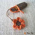 Porte-clé-usb-fleur-orange-01