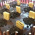 Gâteaux cimetierre halloween