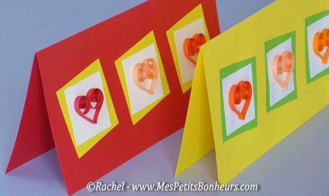 cartes-saint-valentin-coeurs-en-papier-roulé