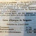 1909 : un inventaire a la prevert ..........