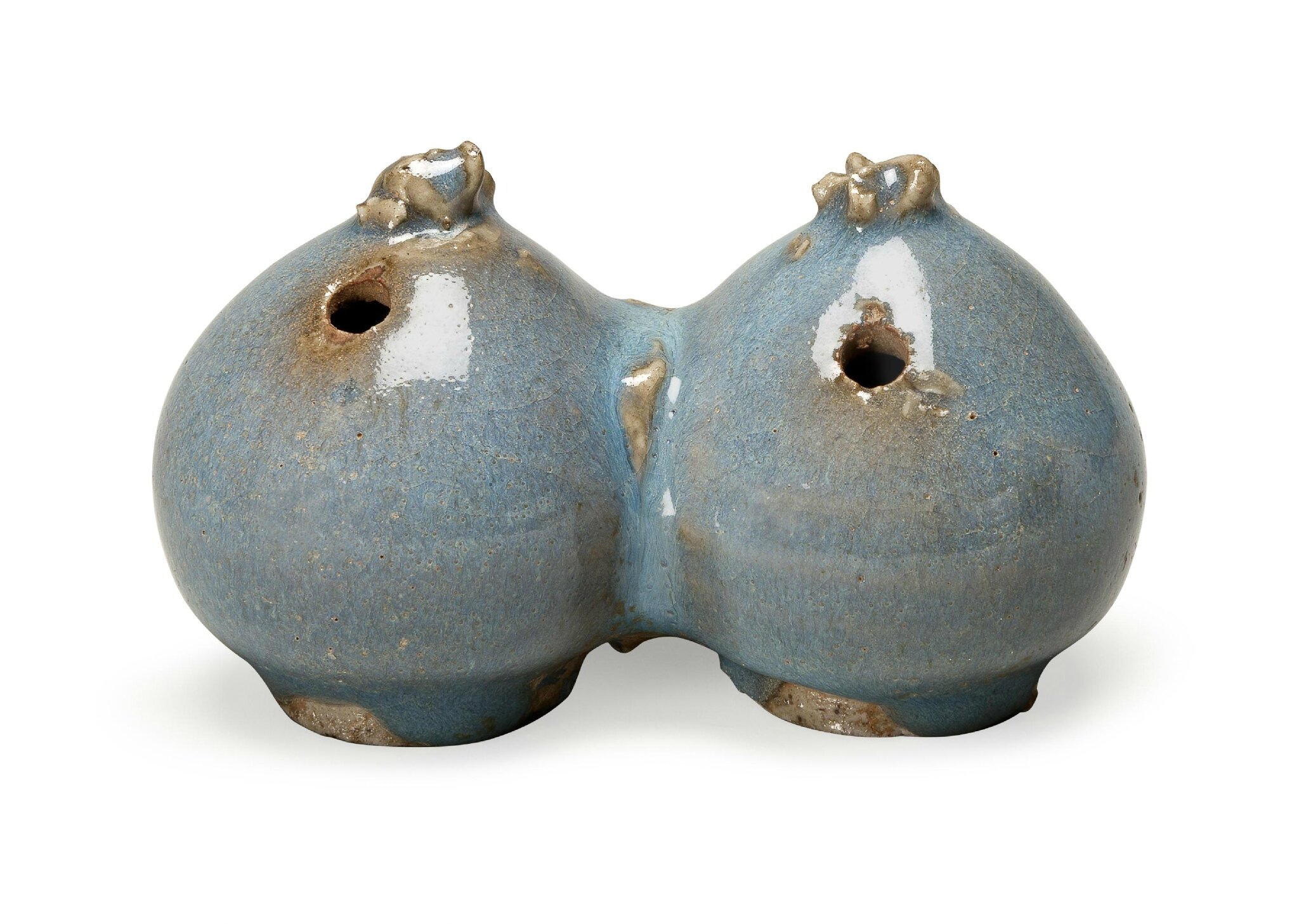 A Junyao water dropper, Jin-Yuan Dynasty, 12th-13th century