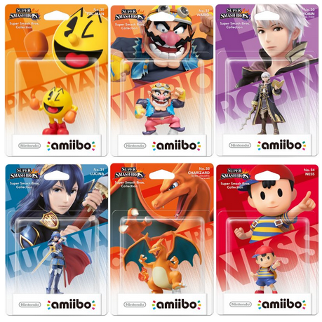 6ème vague d'Amiibo: 6 amiibos