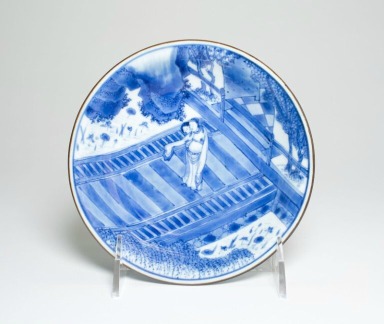 Bowl with Scene from Romance of the Western Chamber, Qing dynasty (1644-1911), Shunzhi-early Kangxi period (c