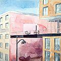Cafe en terrasse w40x40 0315