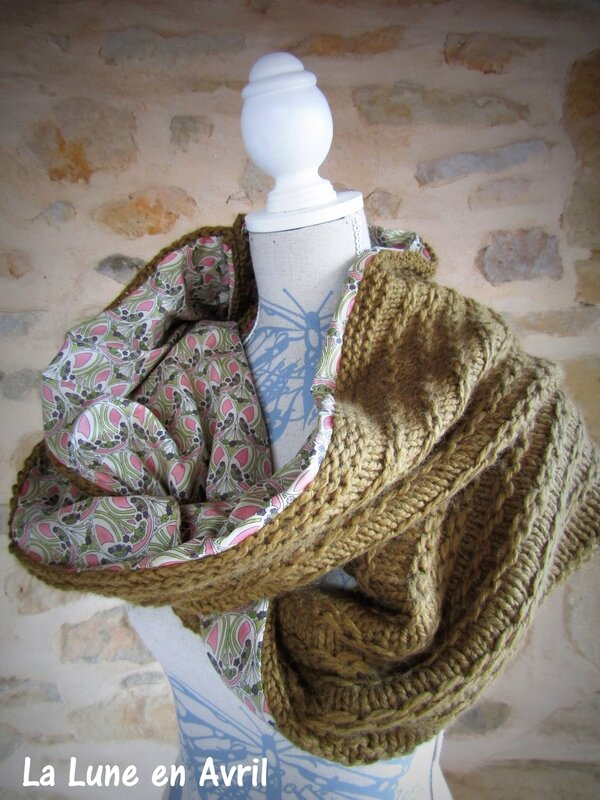 snood doublé Liberty 2