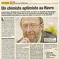 Conference sante-environnement avec andre cicollela (chimiste-toxicologue) le vendredi 14 fevrier 2014 au havre