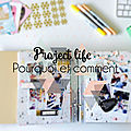 Zoom sur le project life