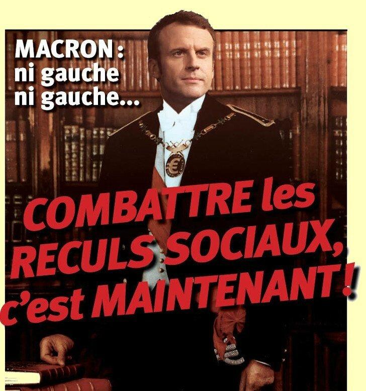 Macron, le Capitalisme En Marche !