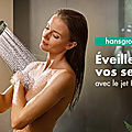 Test trnd : douchette hansgrohe raindance select s : 3 jets avec powderrain