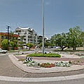 Rond-point à the gardens (australie)