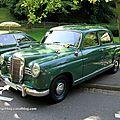 Mercedes 180 D Ponton de 1957 (34ème Internationales Oldtimer meeting de Baden-Baden) 01
