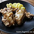 Sauce d'agneau au wasabi