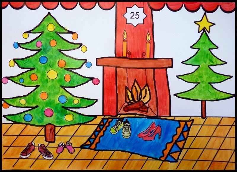 189_Noël Nouvel an_Calendrier de l'avent Au pied du sapin (17)