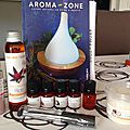 Ma première commande de chez aroma zone :-)