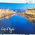 Cap d'Agde datée 1912