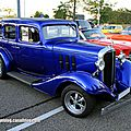 Chevrolet master sedan custom de 1933 (Rencard Burger King septembre 2012) 01