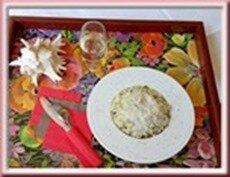 risotto artichauts petits pois en multicuiseur