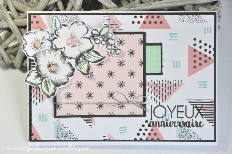 carte fannyseb 3 PCC#291 PAPER CRAFT CREW CHALLENGES