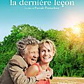 [ critique ] ( 8/10 ) la derniere lecon par christian