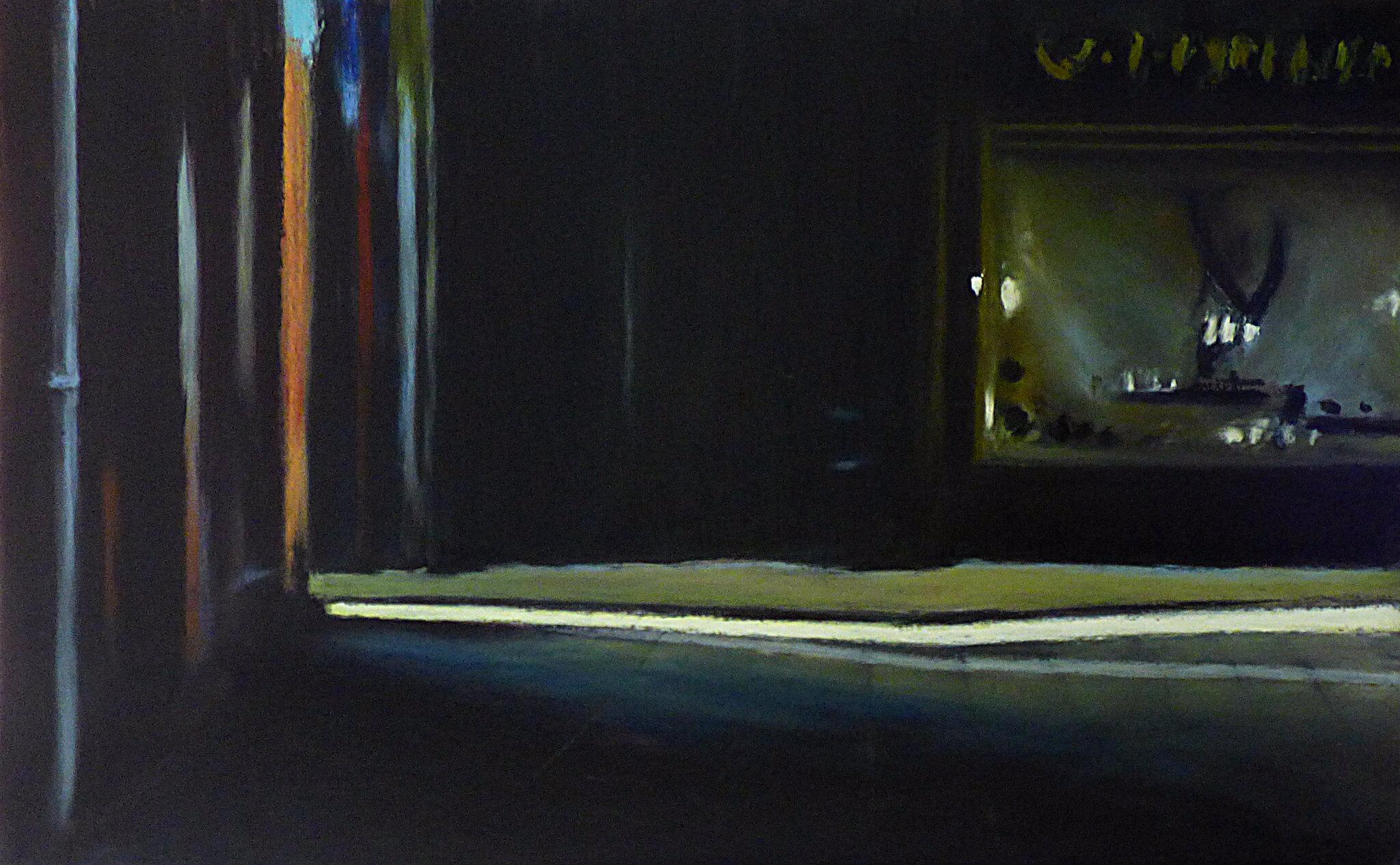 K'nowhere 83, août 2017, pastel à l'huile, 48 x 32 cm
