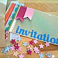 Carte d'invitation ★