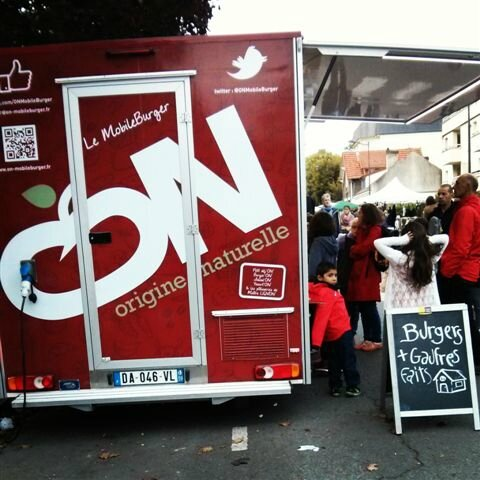ON - Le mobile burger ©Kid Friendly