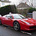 Ferrari 458 spider 2011
