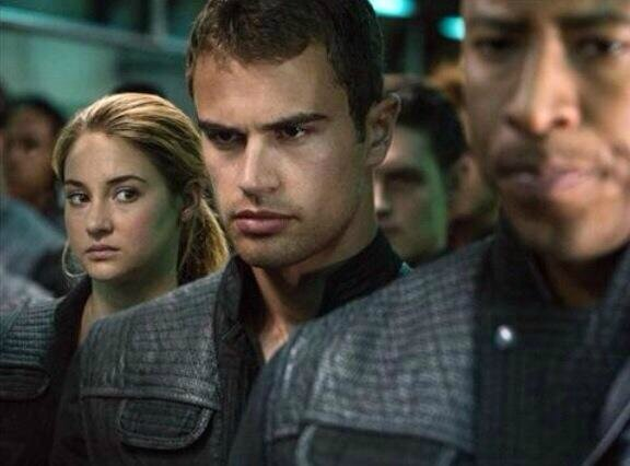 Tobias and Tris Divergent movie