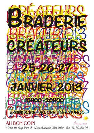 Braderie Janvier 2013