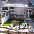 Le patio en ville