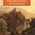 The mysteries of udolpho, d'ann radcliffe