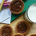 Barquette lu maison au chocolat