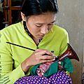 Laques artisanales - Myinkaba - Bagan