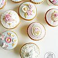 Cupcakes shabby