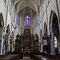 Eglise Notre Dame des Arts - Nef et Maitre Autel