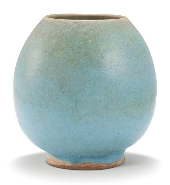 A 'Jun' lotus-bud waterpot, Jin-Yuan dynasty