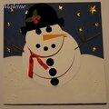 Bonhomme de neige 3d